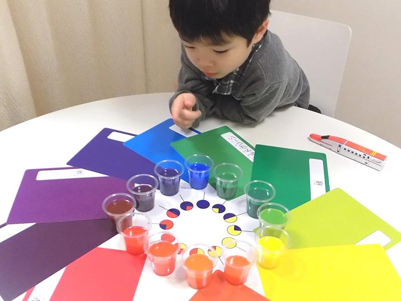 色水実験&色作り体験01